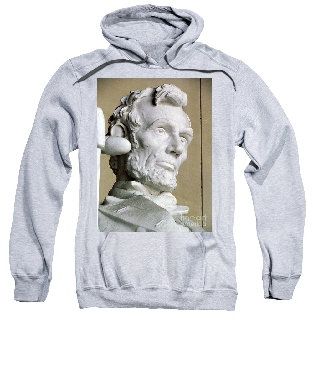 Abraham Lincoln Sweatshirt featuring the photograph Lincoln by Elizabeth Dow