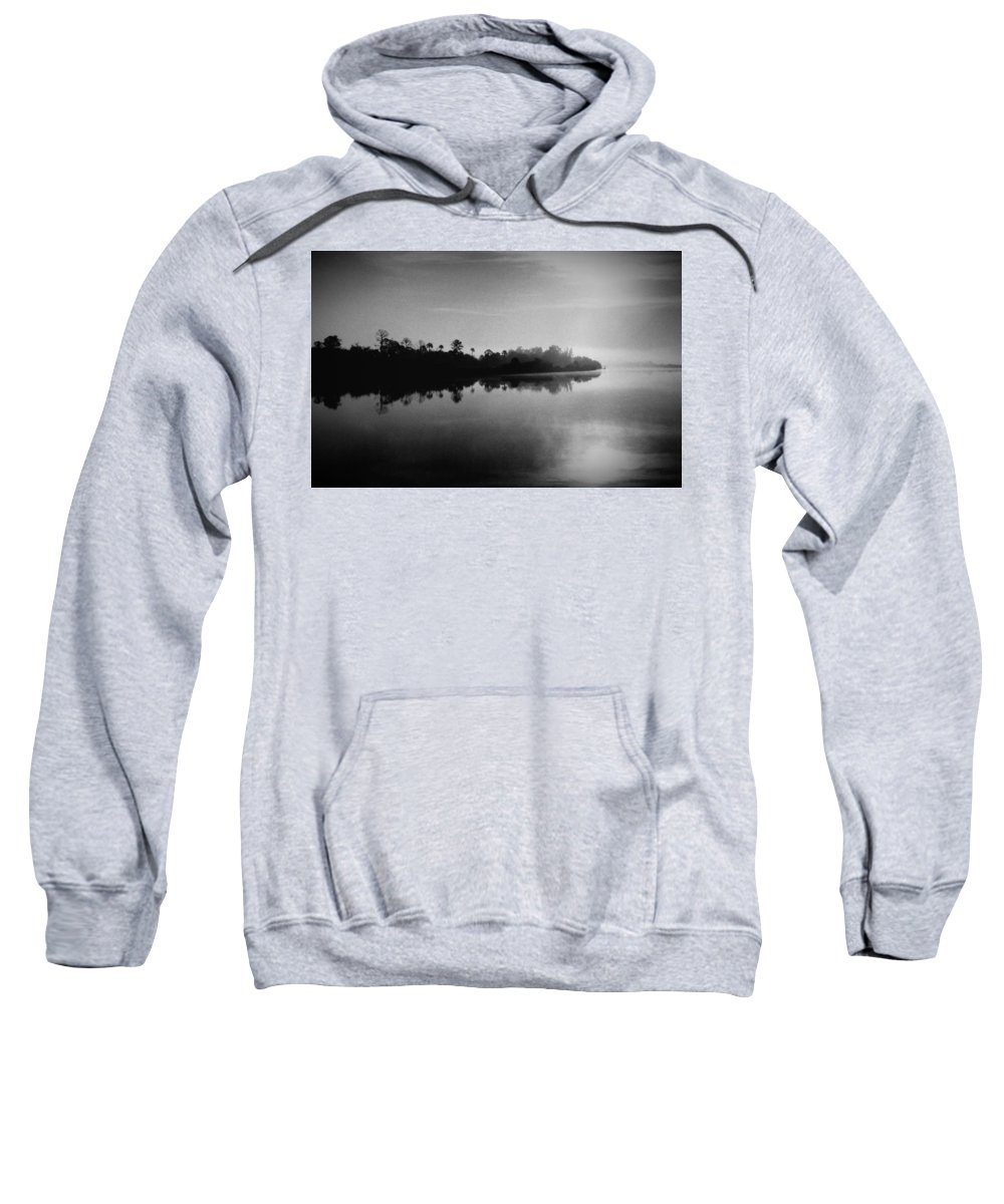 Black Sweatshirt featuring the photograph Little Manatee River Number 2 by Phil Penne