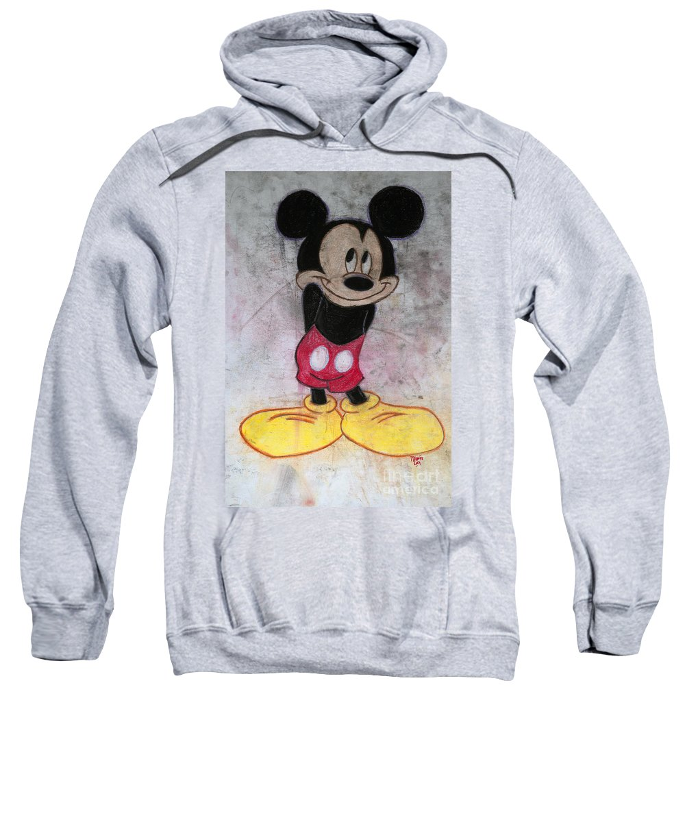 Pastel Sweatshirt featuring the pastel Little Yellow Shoes by Tom Luca