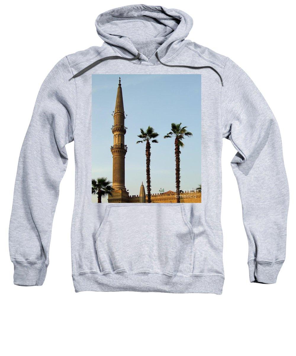 Egypt Sweatshirt featuring the photograph Local Cairo Mosque 02 by Antony McAulay