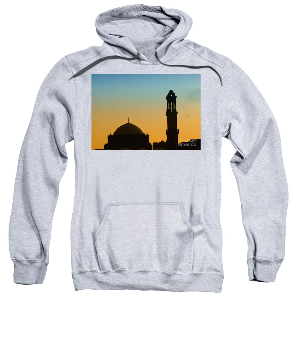 Egypt Sweatshirt featuring the photograph Local Cairo Mosque 03 by Antony McAulay
