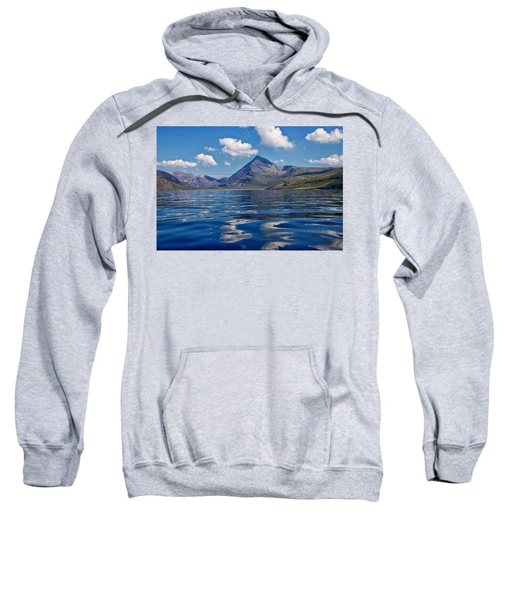 Loch Scavaig Sweatshirt featuring the photograph Loch Scavaig by David Pringle