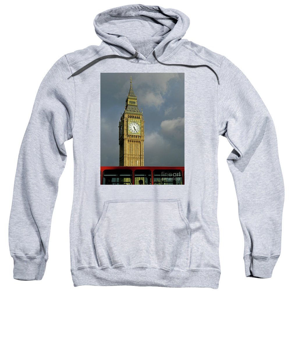 London Icons By Ann Horn Sweatshirt featuring the photograph London Icons by Ann Horn