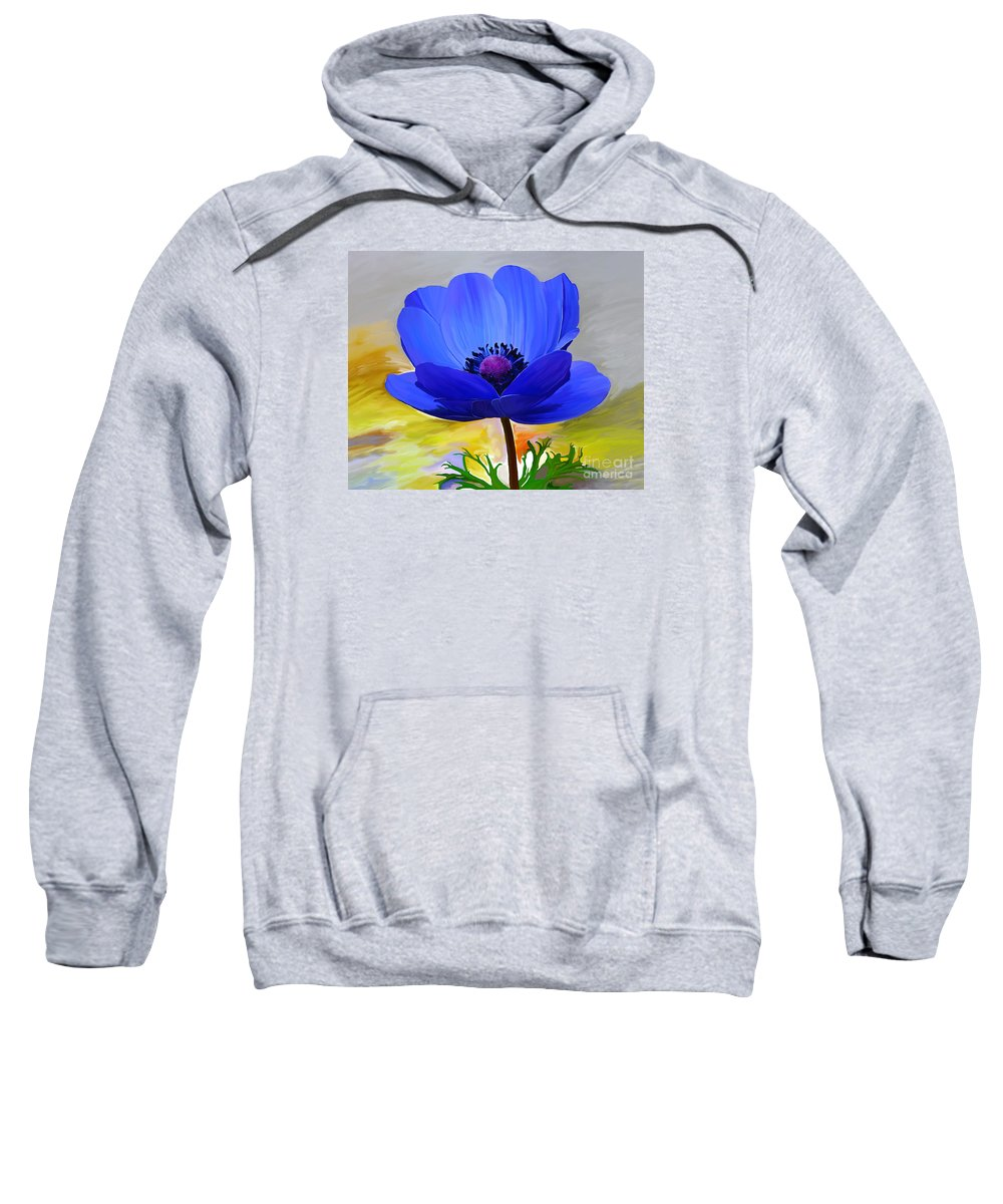 Fine Art Sweatshirt featuring the painting Lord Lieutenant by Patricia Griffin Brett