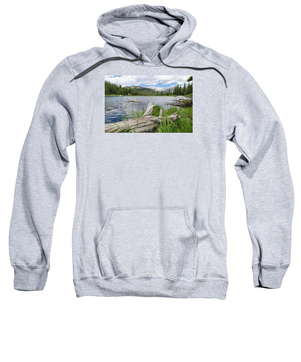 Lost Lake Colorado Sweatshirt featuring the photograph Lost Lake Colorado II by Robert VanDerWal