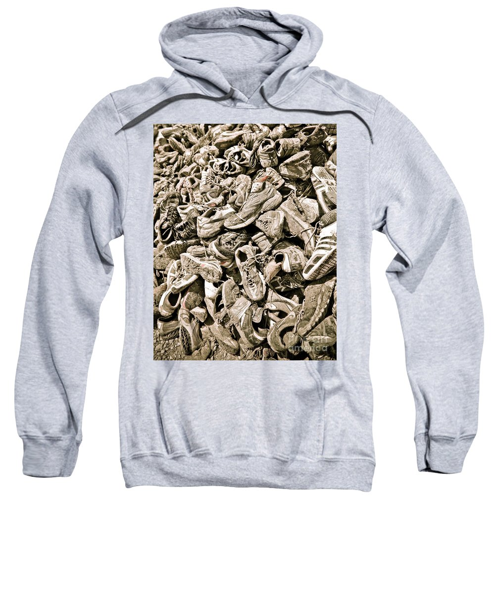 Charles Dobbs Sweatshirt featuring the photograph Lost Souls by Charles Dobbs
