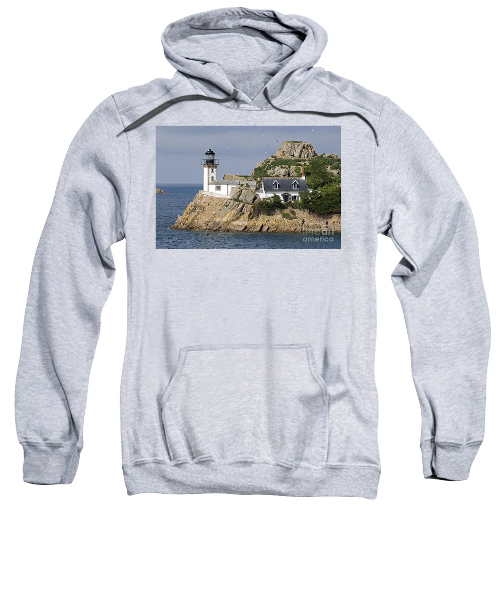 Lighthouse Sweatshirt featuring the photograph Louet 1 by Arterra Picture Library