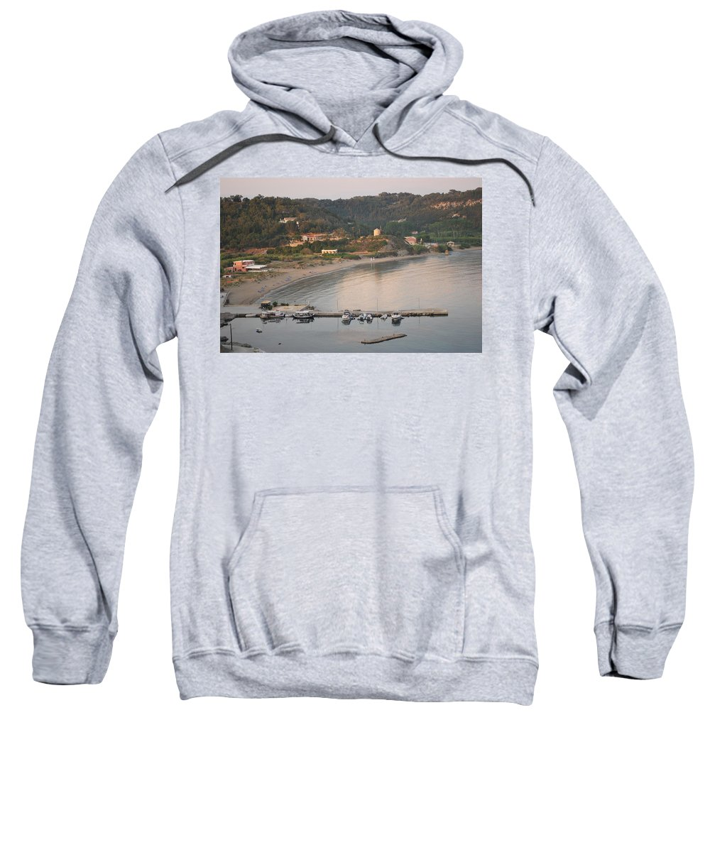 Greek Islands Sweatshirt featuring the photograph Loutsi 2 by George Katechis