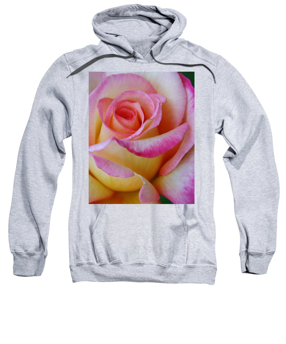 Card Sweatshirt featuring the photograph Love And Peace by Guy Shultz