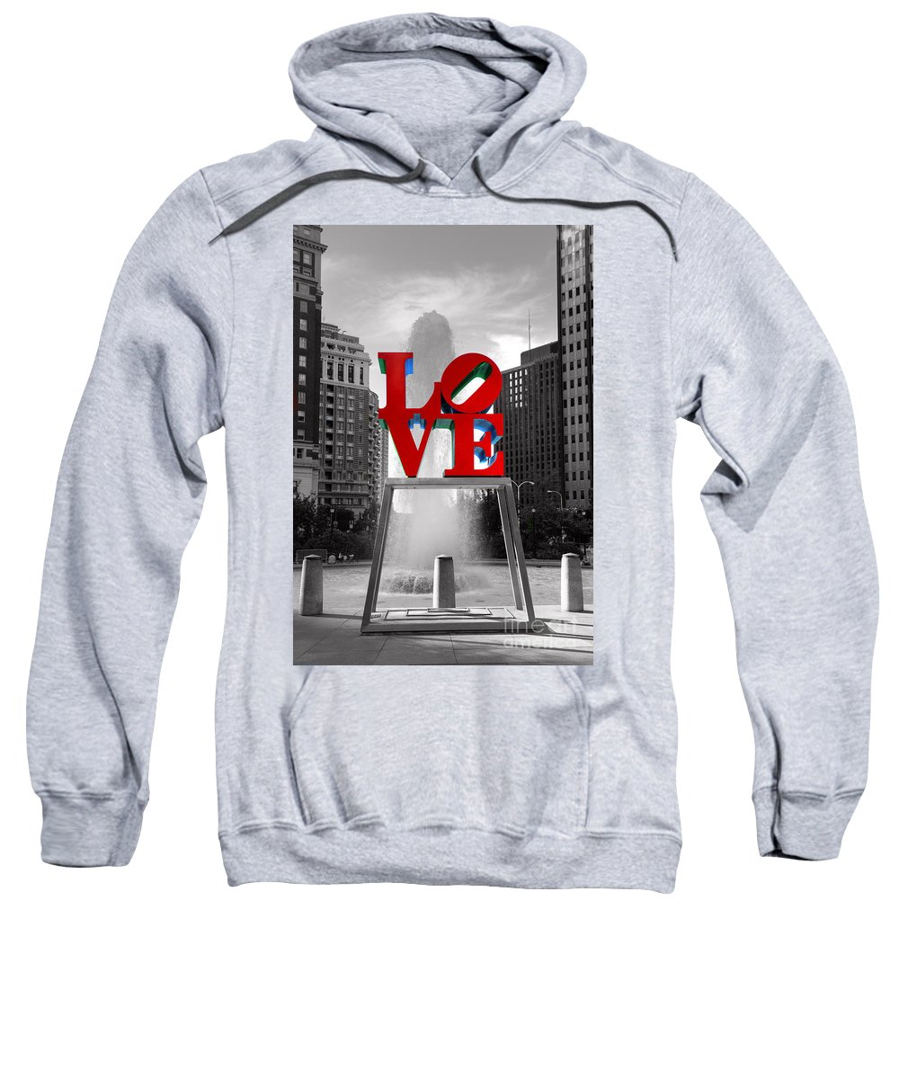 Paul Ward Sweatshirt featuring the photograph Love Isn't Always Black And White by Paul Ward