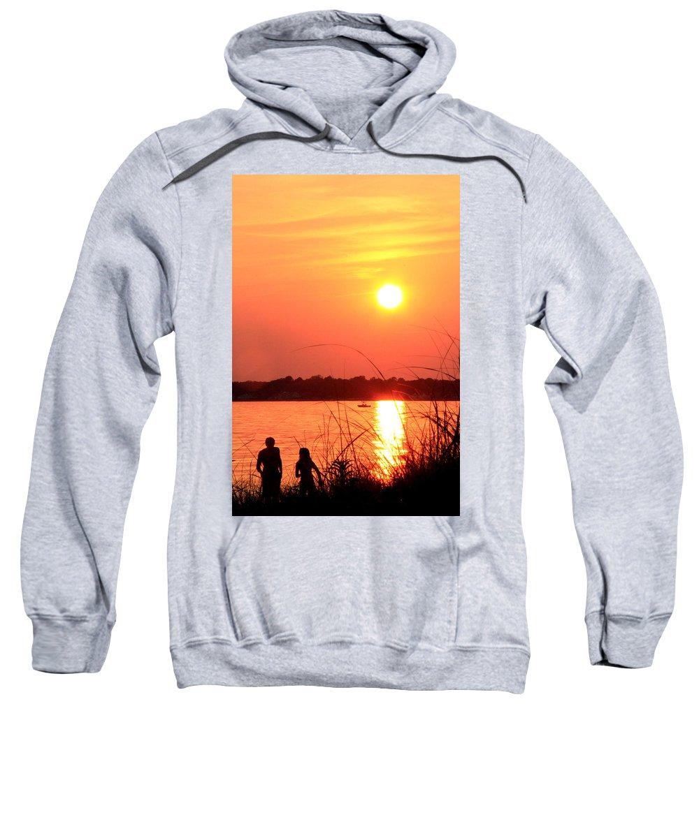 Mood Sweatshirt featuring the photograph Love You by Mark Ashkenazi