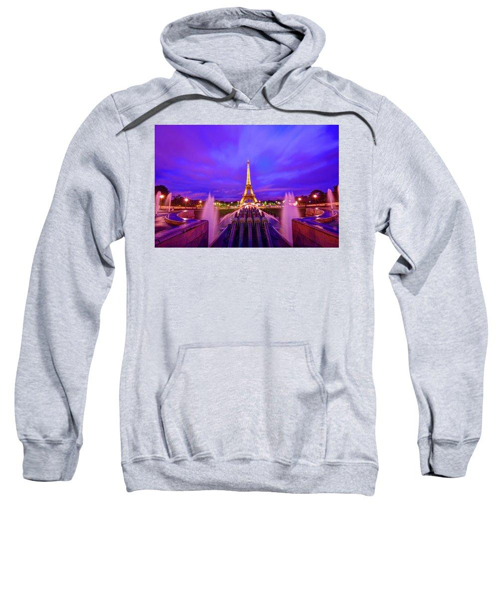 Eiffel Tower Sweatshirt featuring the photograph Magic Moment by Midori Chan