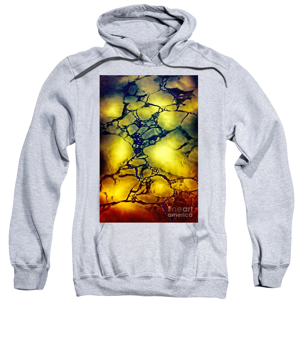 Hudson Bay Sweatshirt featuring the photograph Magical Yellow by Karla Weber