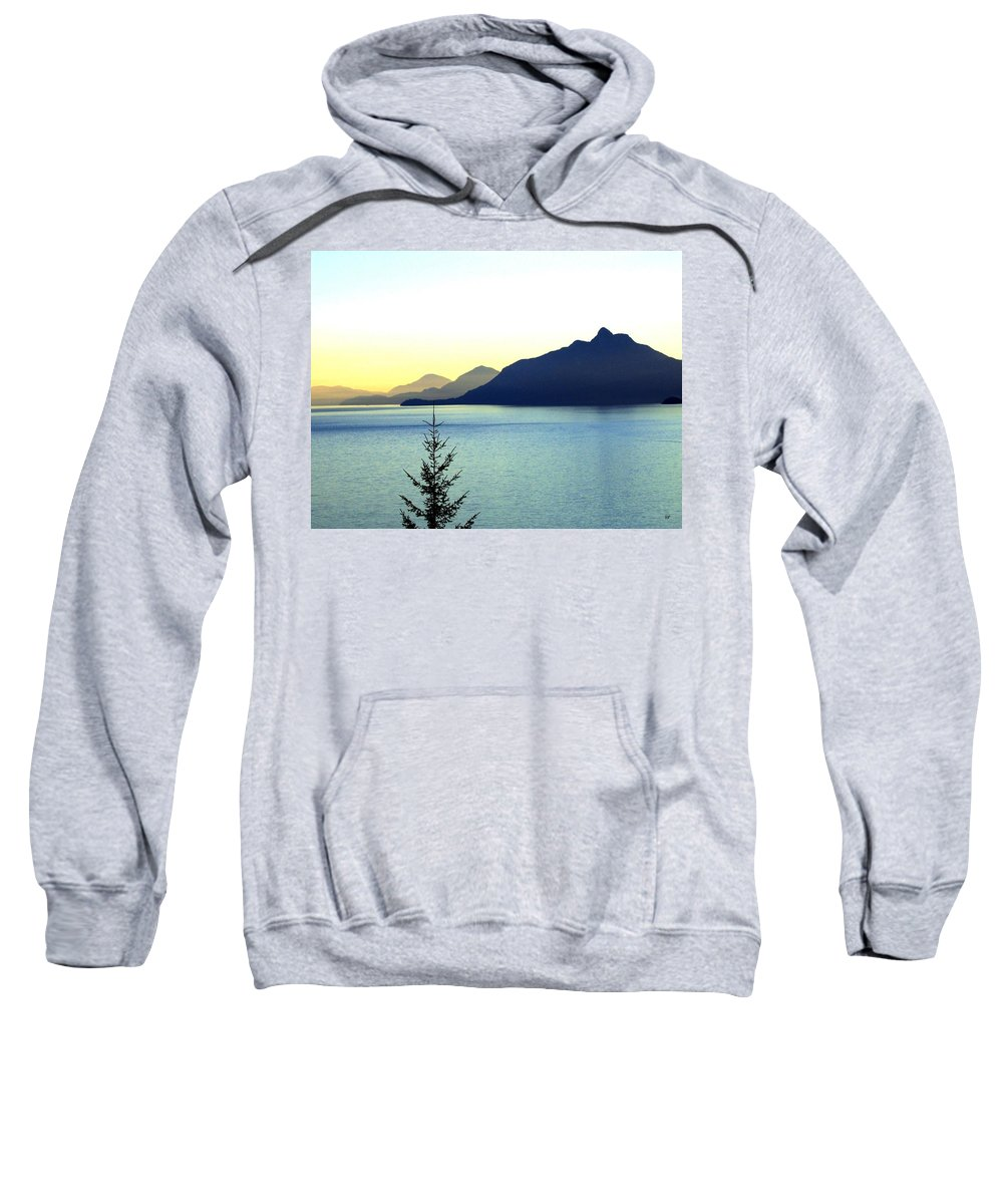 Vancouver Sweatshirt featuring the photograph Magnificent Howe Sound by Will Borden