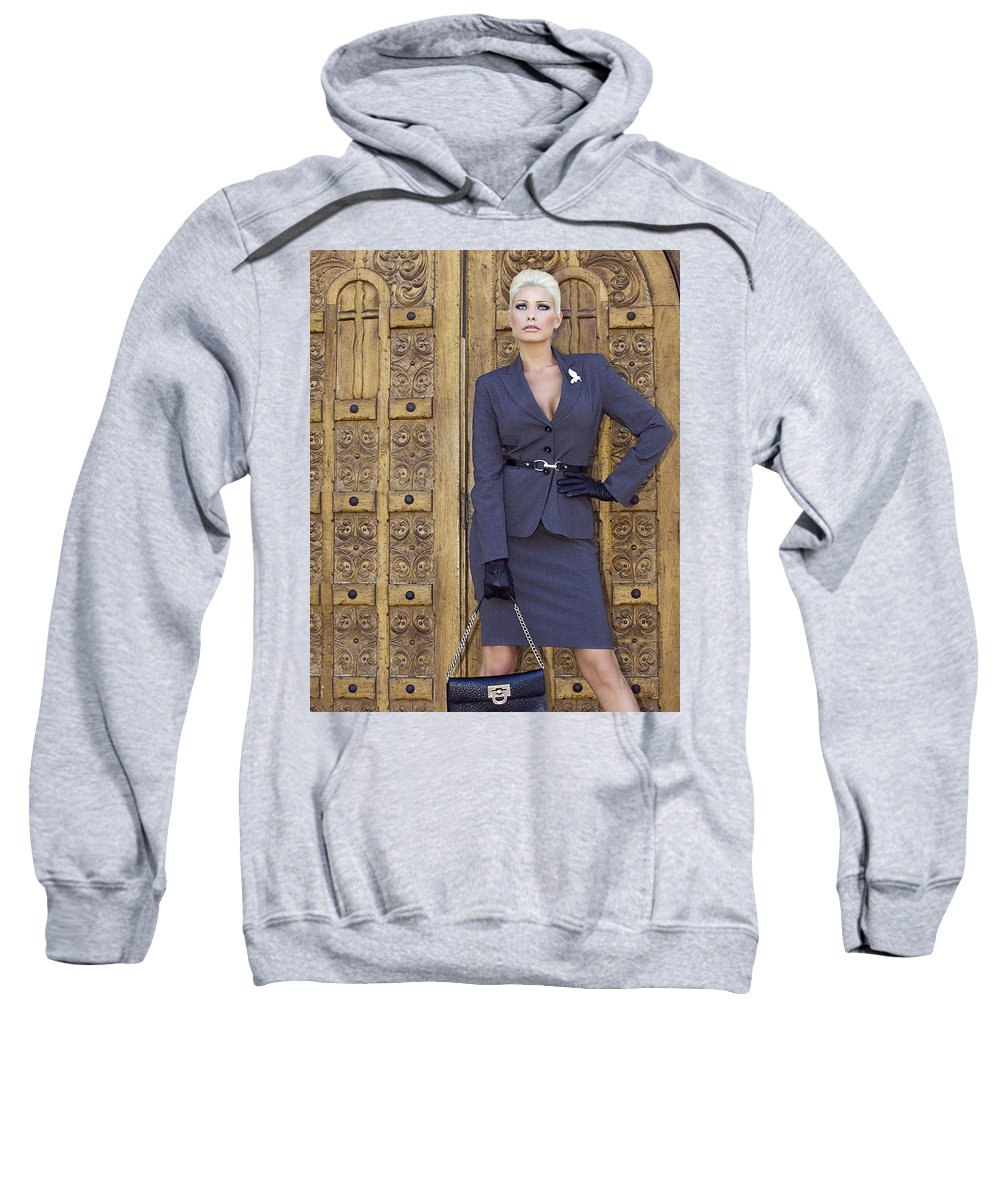Female Sweatshirt featuring the photograph Magnificent Obsession Palm Springs by William Dey