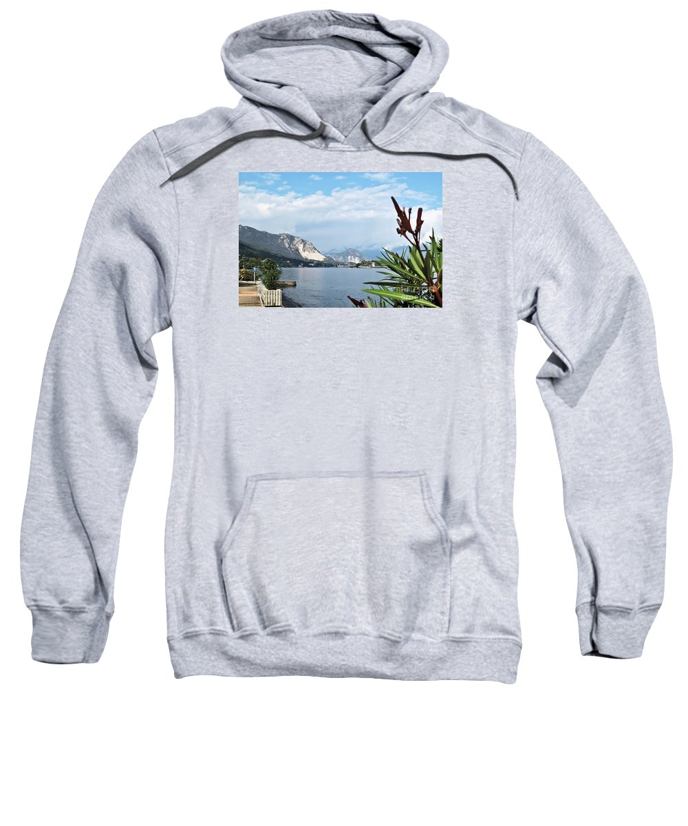 Travel Sweatshirt featuring the photograph Magnificient Maggiore by Elvis Vaughn