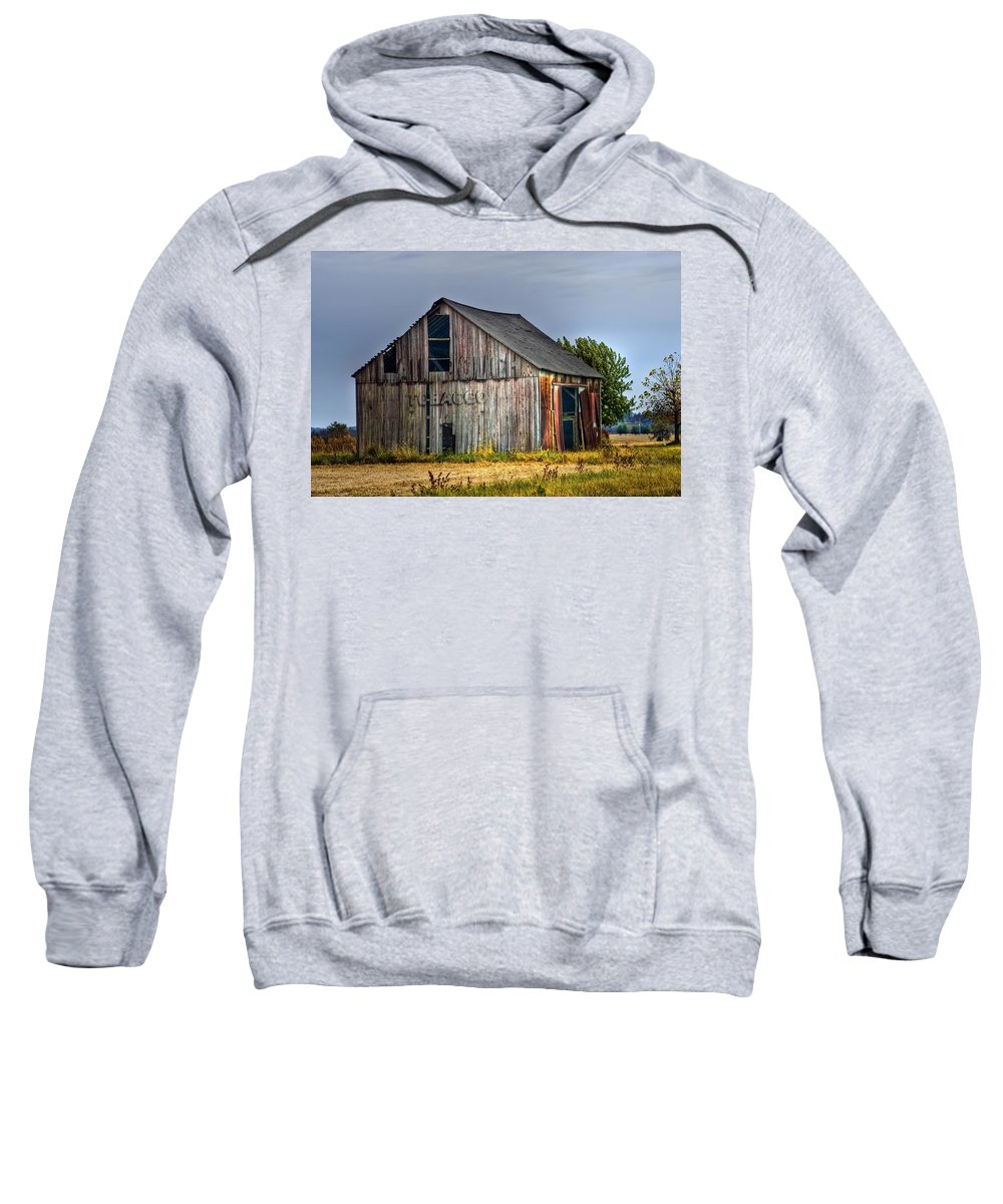 Agriculture Sweatshirt featuring the photograph Mail Pouch by Sharon Meyer