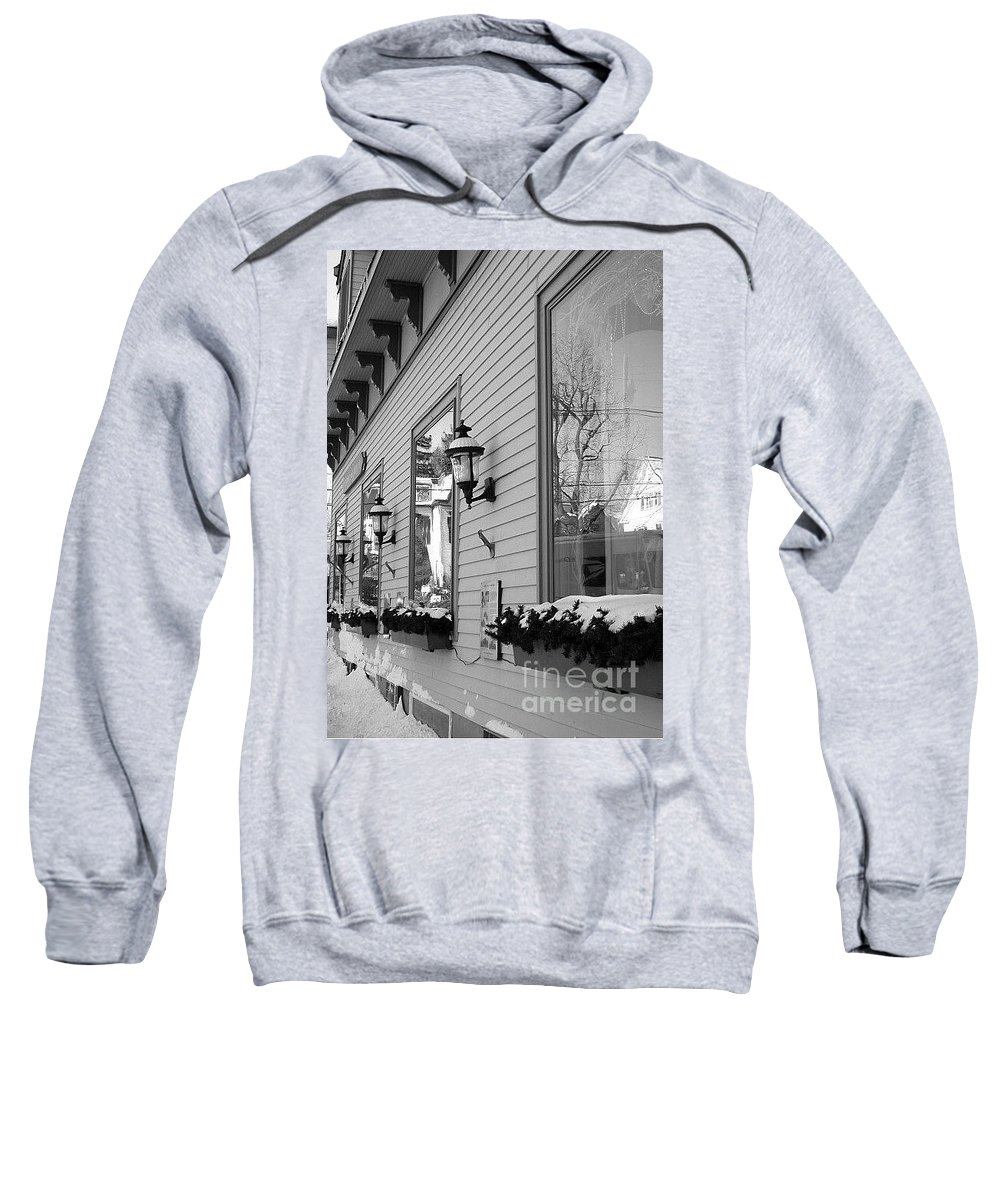 Old Town Sweatshirt featuring the photograph Main Street Usa by Living Color Photography Lorraine Lynch