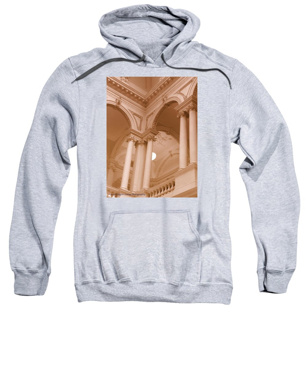 Architecture Sweatshirt featuring the photograph Majestic by Lingfai Leung