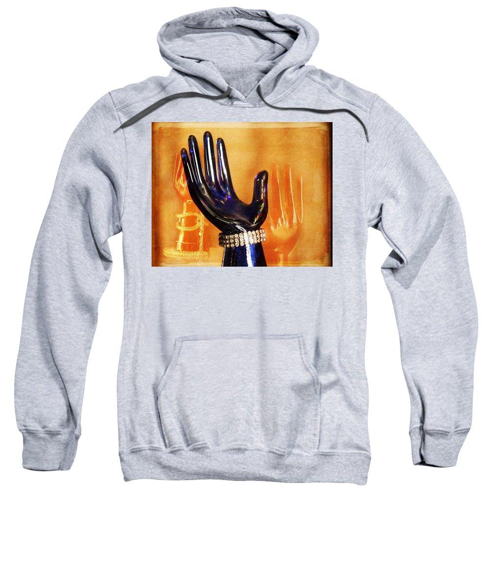 Diamonds Sweatshirt featuring the photograph Make Mine Diamonds by Terry Fleckney
