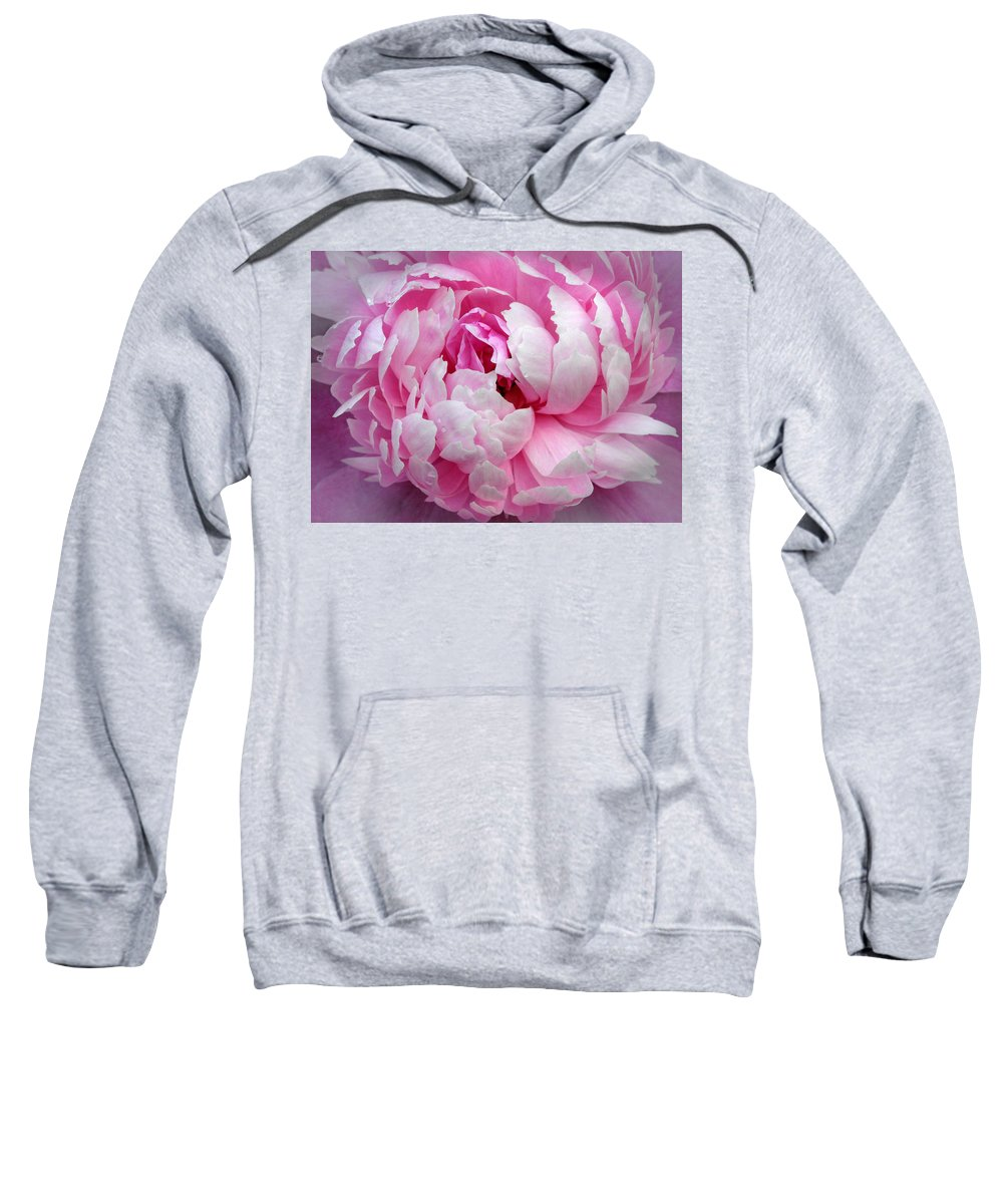 Peony Sweatshirt featuring the photograph Many Layers by Dave Mills