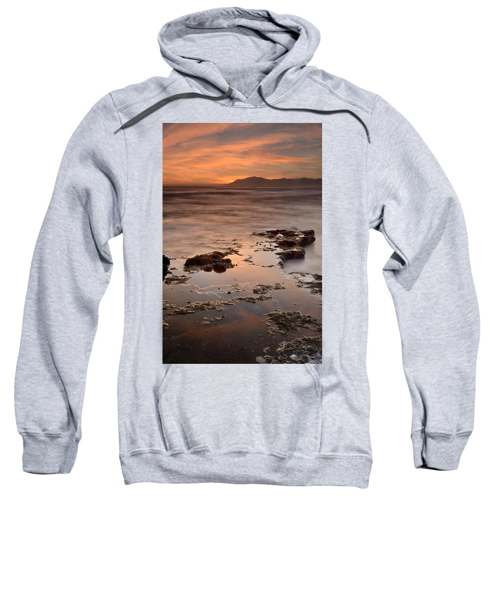 Seascape Sweatshirt featuring the photograph Marbella Spain by Guido Montanes Castillo