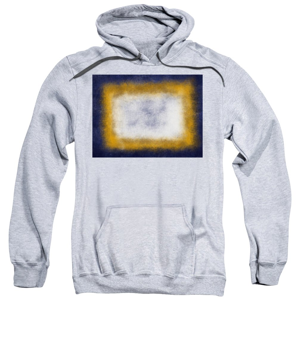 Yellow Sweatshirt featuring the painting Massanutten Vii by Julie Niemela