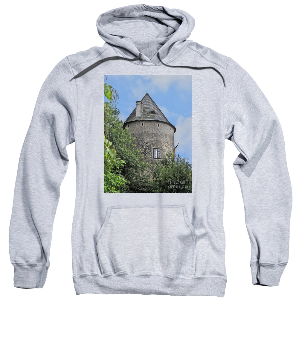 Travel Sweatshirt featuring the photograph Melk Medieval Tower by Elvis Vaughn