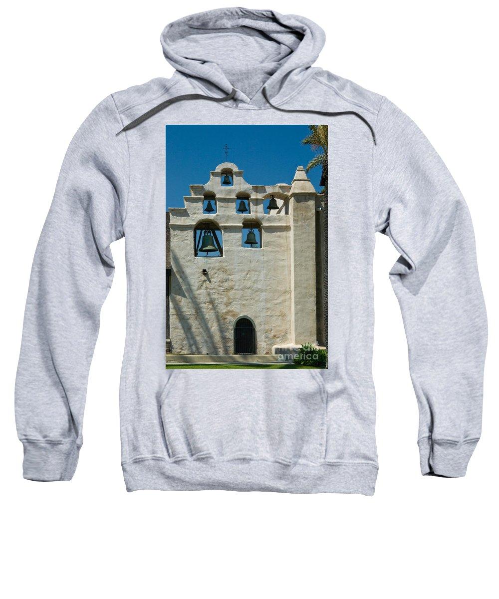 San Gabriel Mission Photographs Hooded Sweatshirts T-Shirts