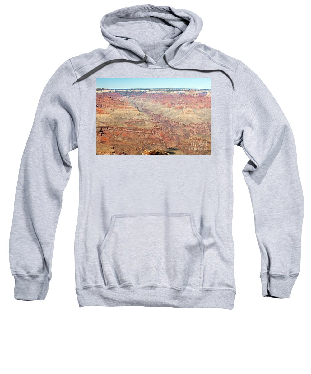 Afternoon Sweatshirt featuring the photograph Mohave Point Grand Canyon National Park by Fred Stearns