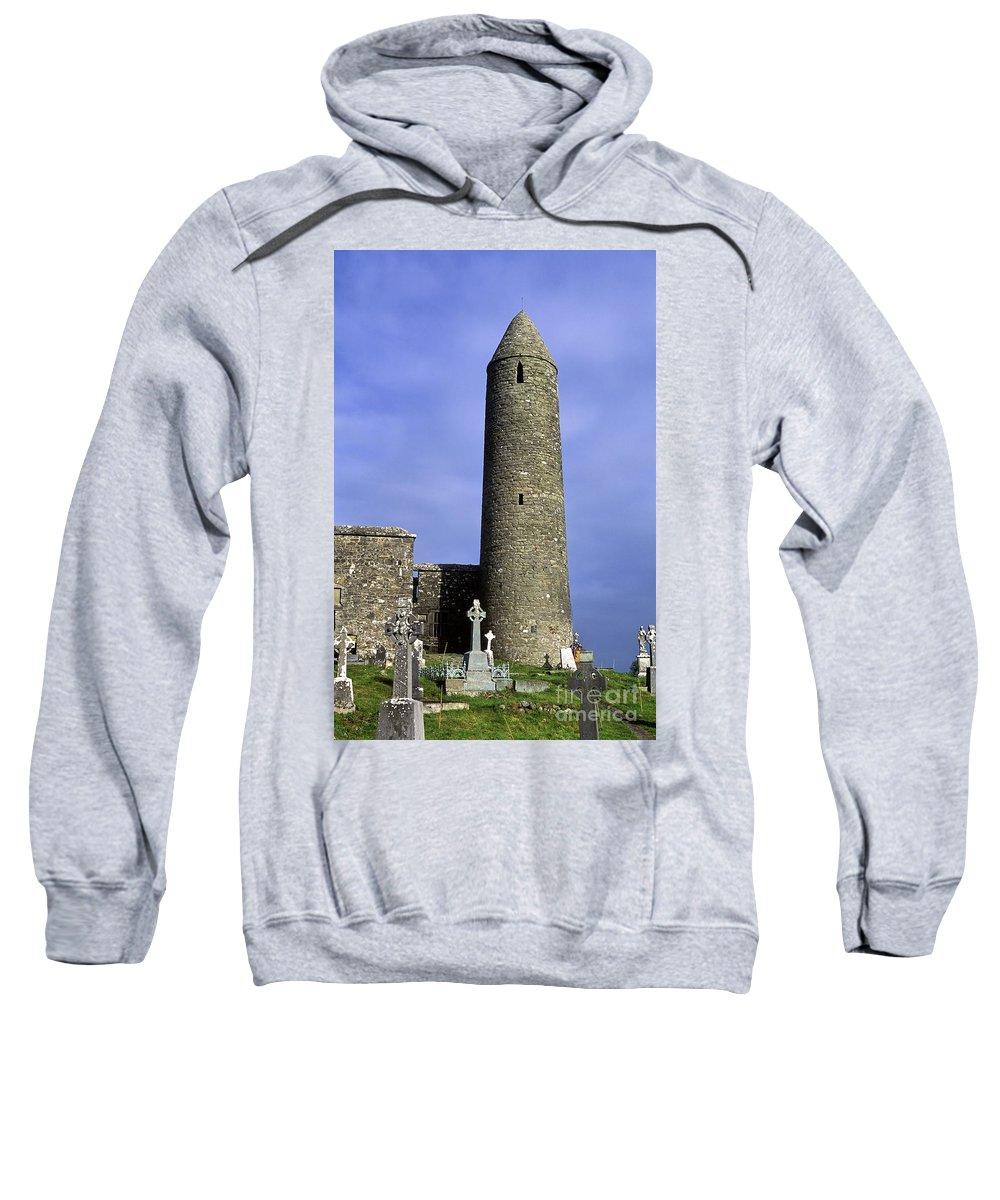 Europe Sweatshirt featuring the photograph Monastic Round Tower by John Greim