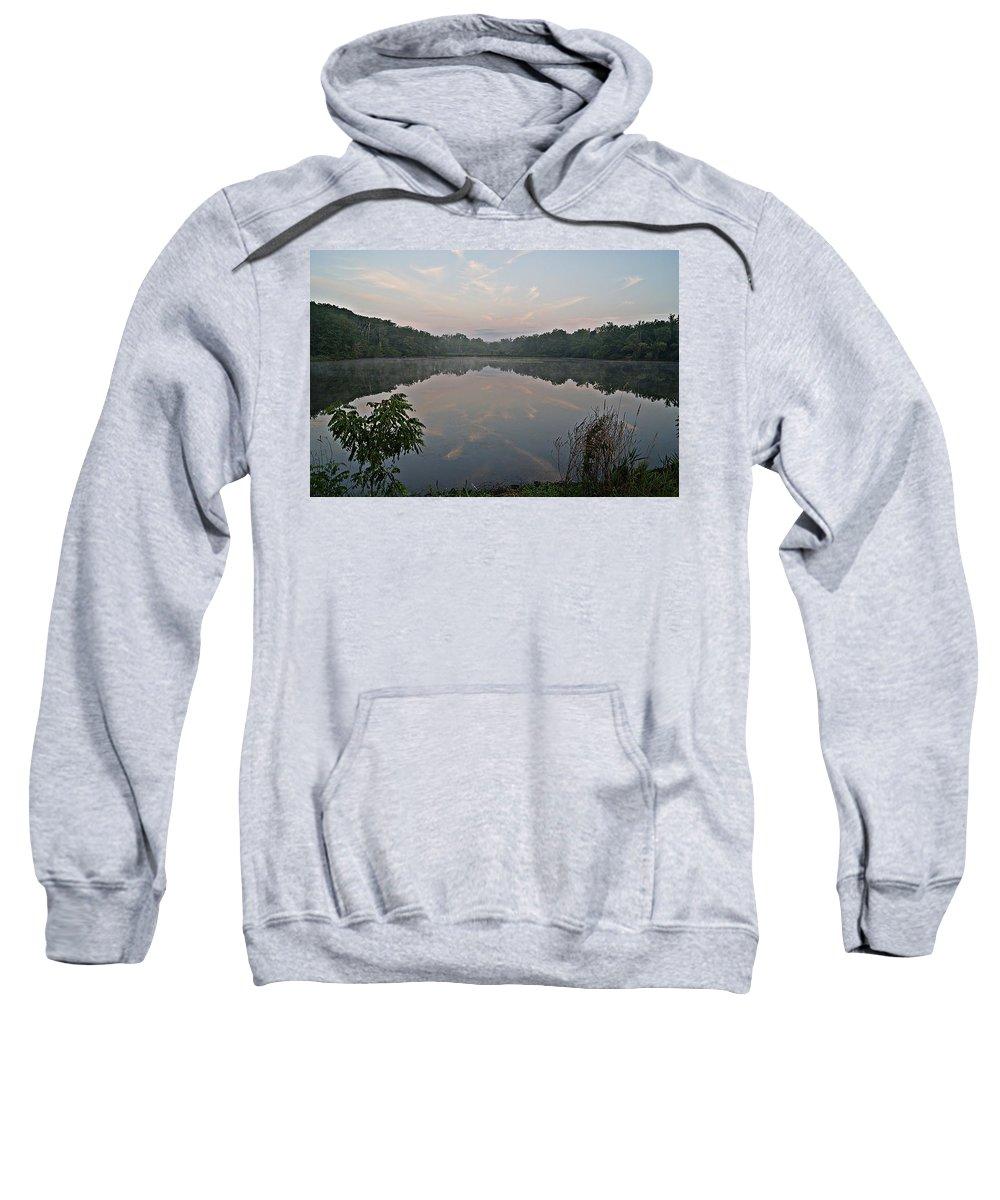 Morning Sweatshirt featuring the photograph Morning Has Broken I by Joe Faherty