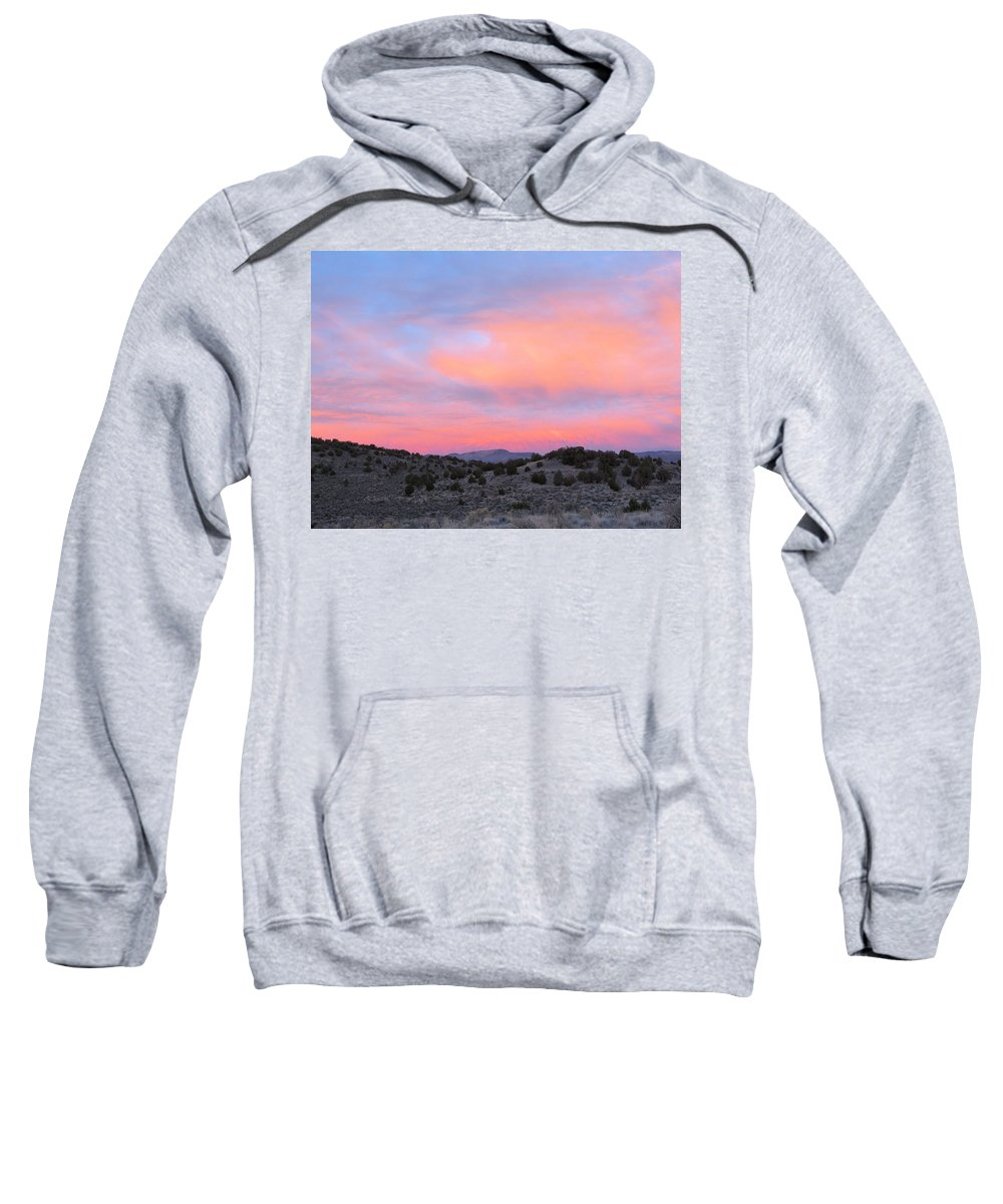 Sunrise Sweatshirt featuring the photograph Morning Paints by Darcy Tate