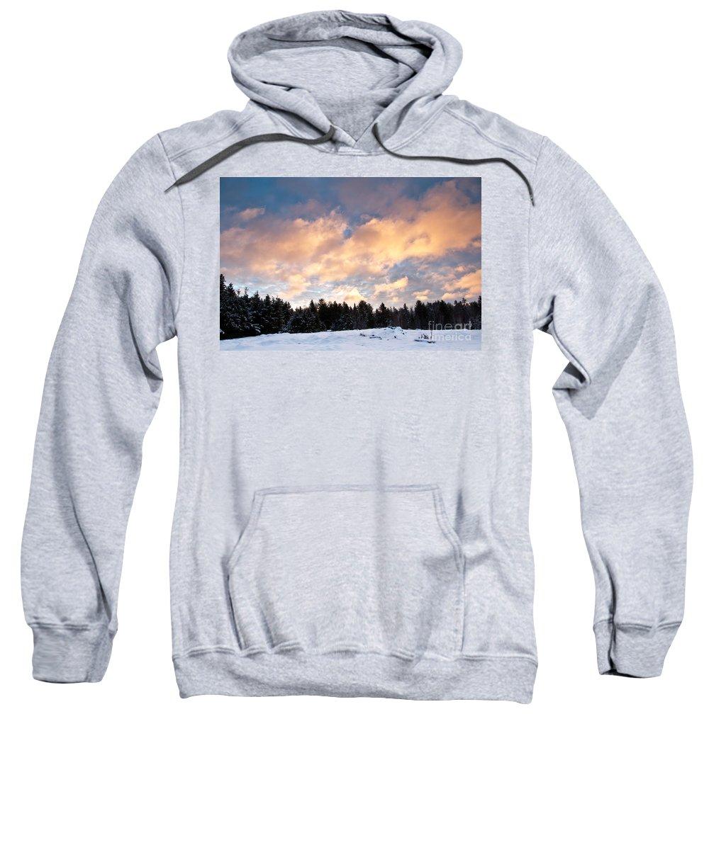 Sunrise Sweatshirt featuring the photograph Morning Sunrise by Cheryl Baxter