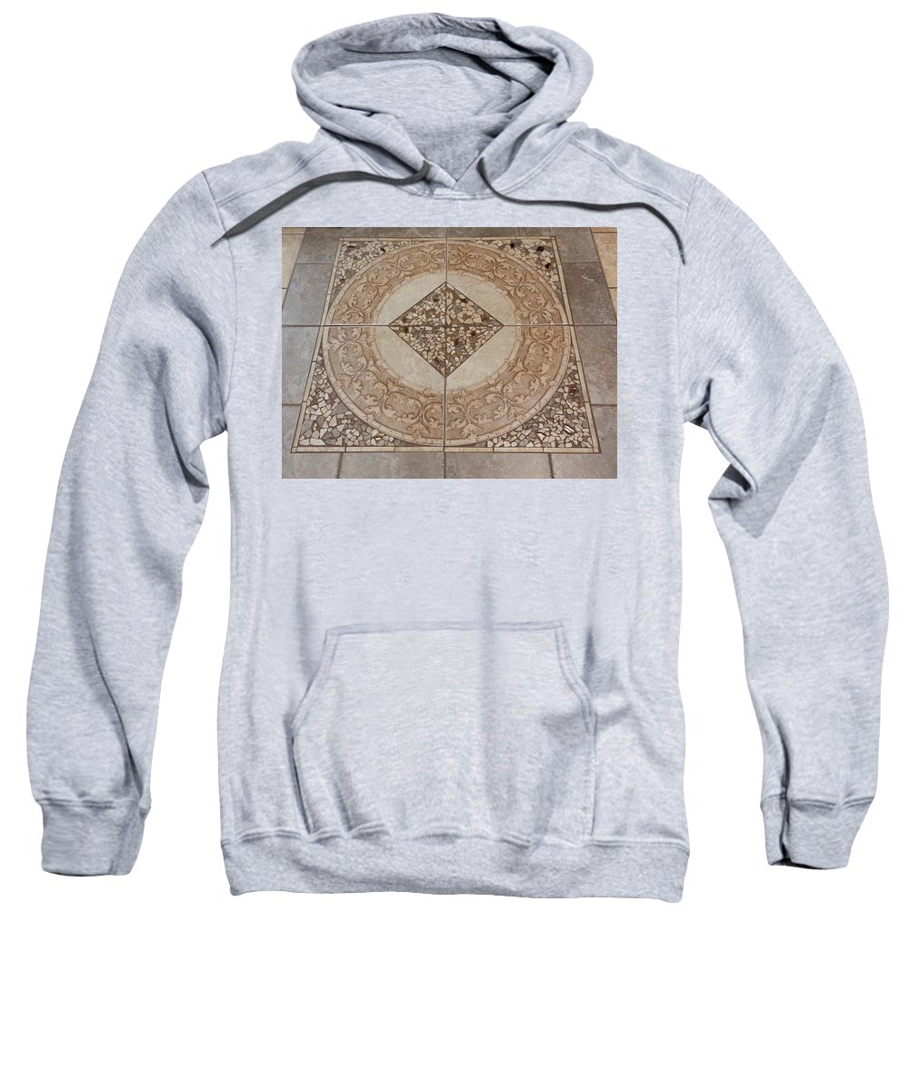 Mosaic Sweatshirt featuring the photograph Mosaic Works by Fortunate Findings Shirley Dickerson