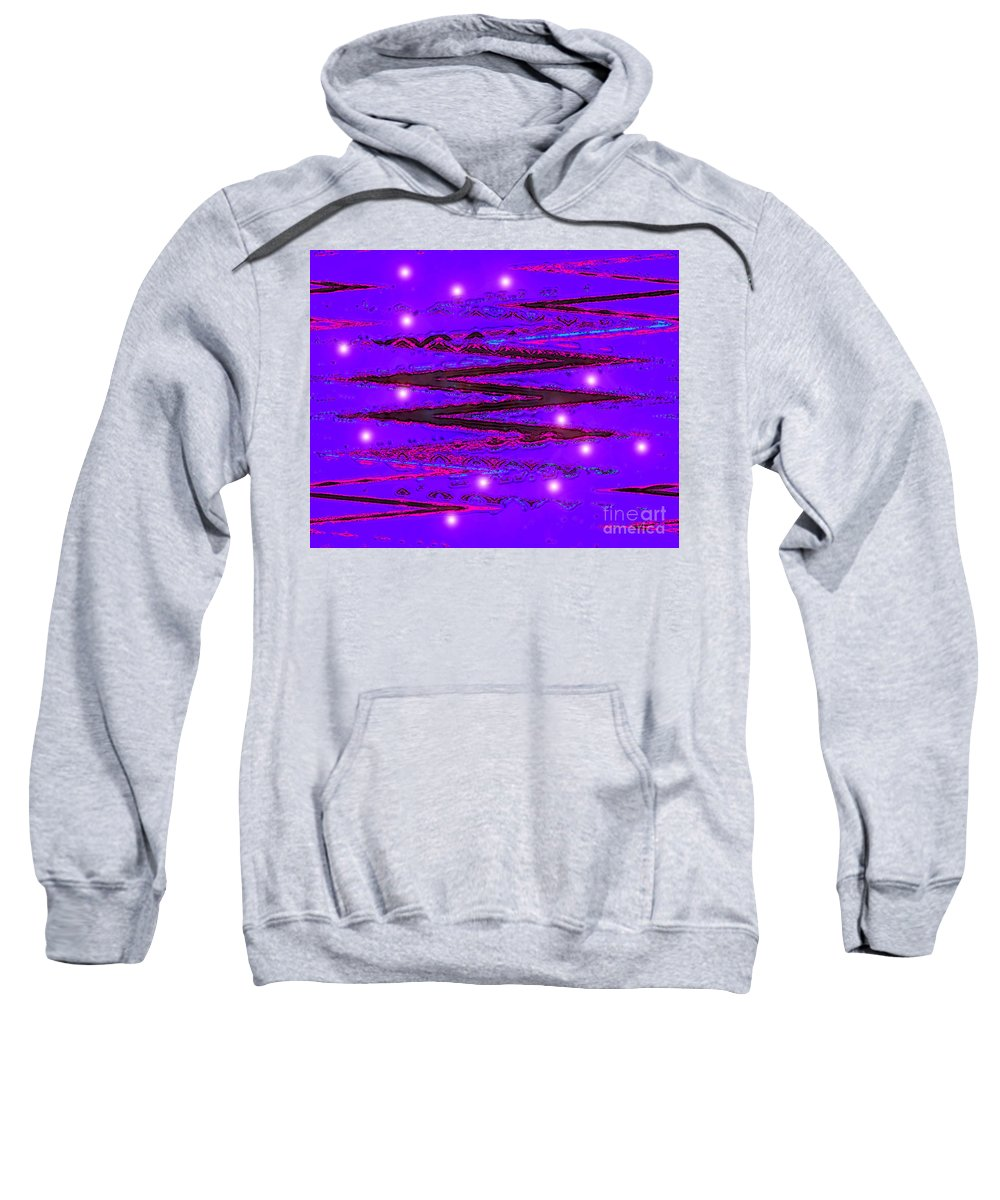vibegood Digital Art By Artist Jacob Kane Kanduch -- Omnetra � In Portland Sweatshirt featuring the digital art Moveonart Vibesgood by Jacob Kanduch