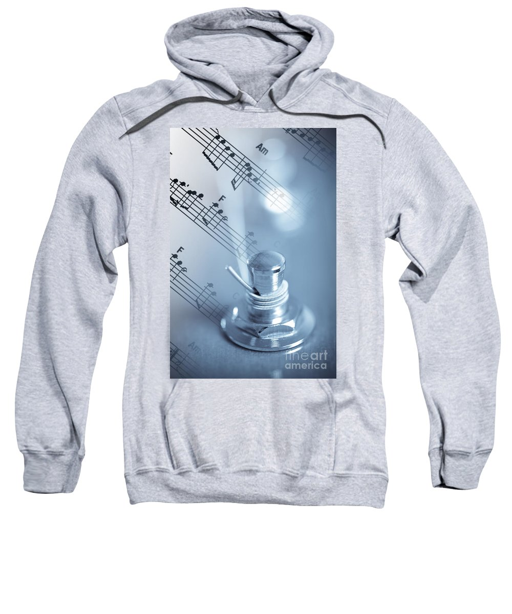 Bridge Sweatshirt featuring the photograph Musical Tune by Charles Dobbs