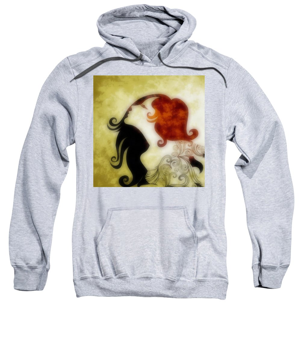 Wonder Sweatshirt featuring the digital art My Prince Will Come For Me 1 by Angelina Vick