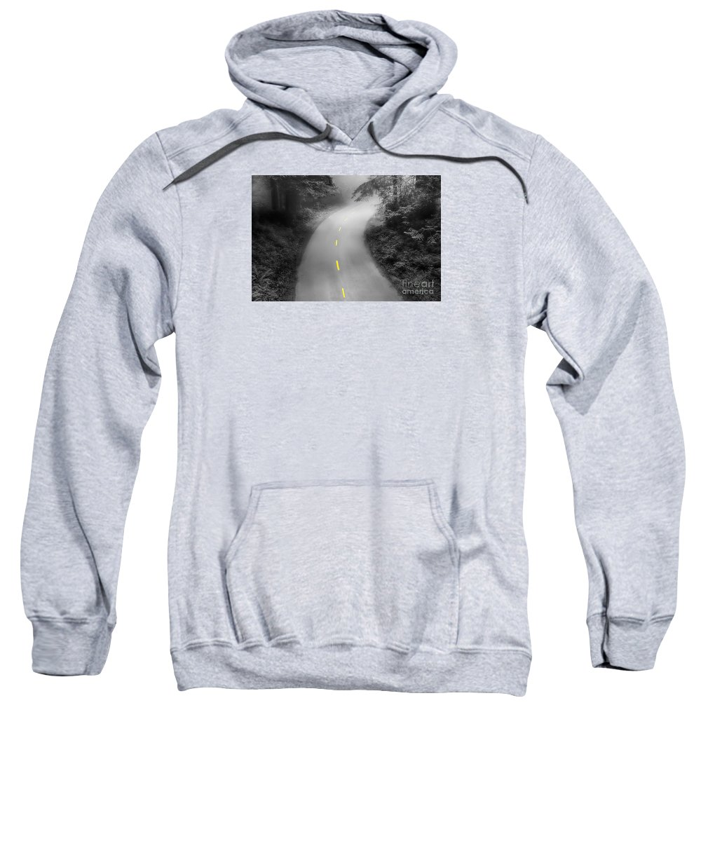 California Sweatshirt featuring the photograph Mysterious by Alice Cahill