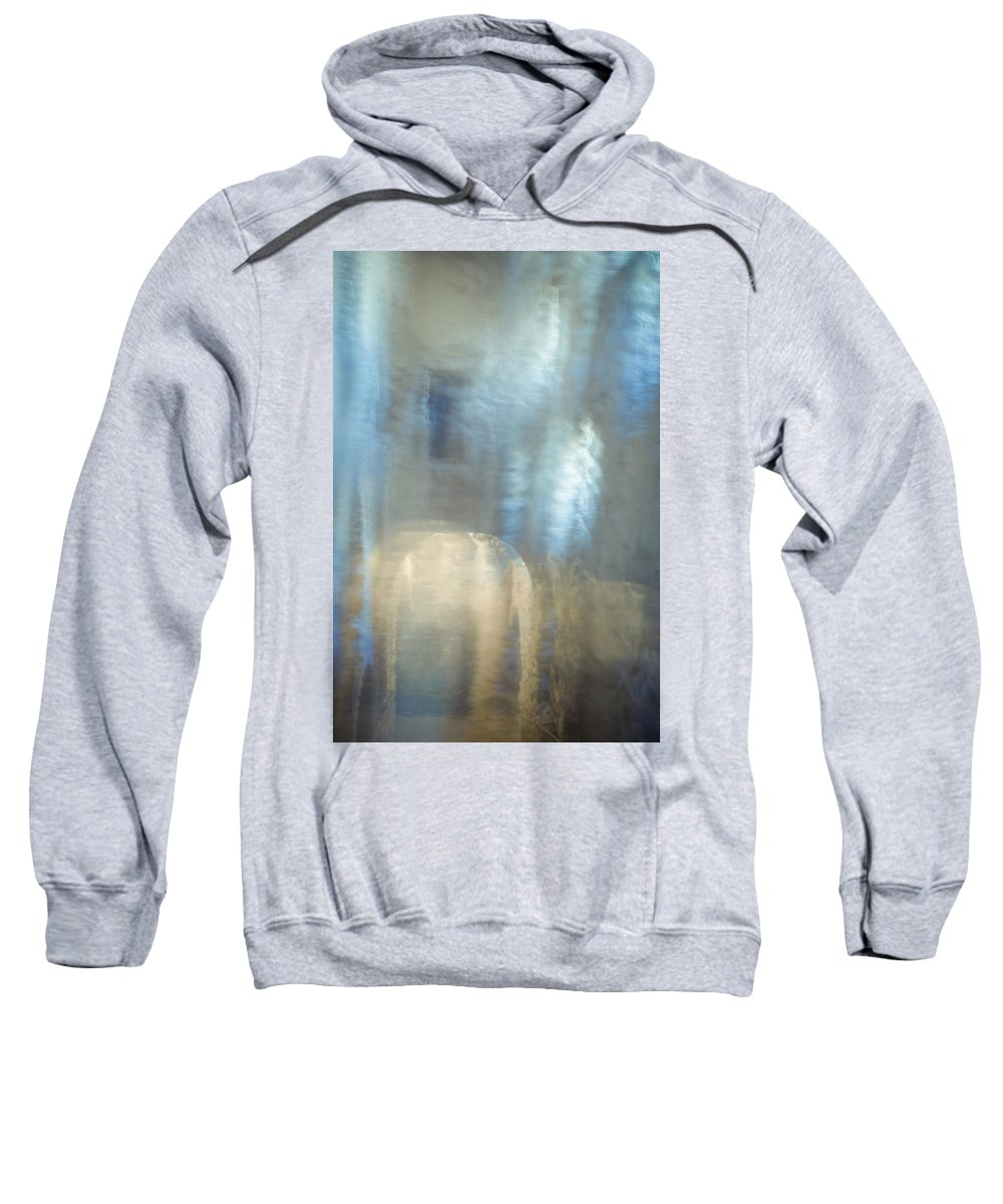 Cave Sweatshirt featuring the photograph Mysterious Cave. Impressionism. Tnm by Jenny Rainbow