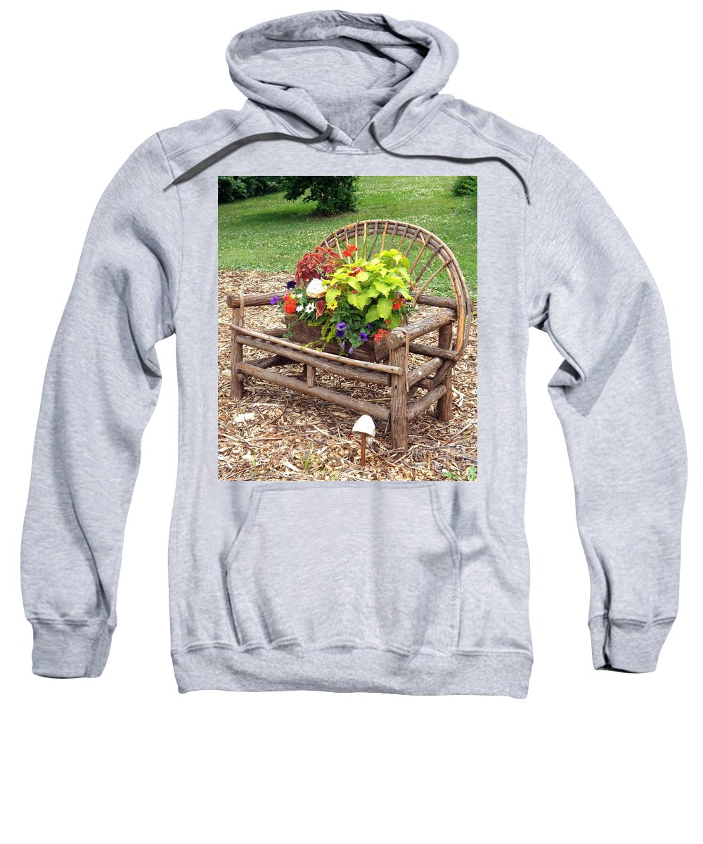Furniture Sweatshirt featuring the photograph Nature Comes To Life by Sara Raber