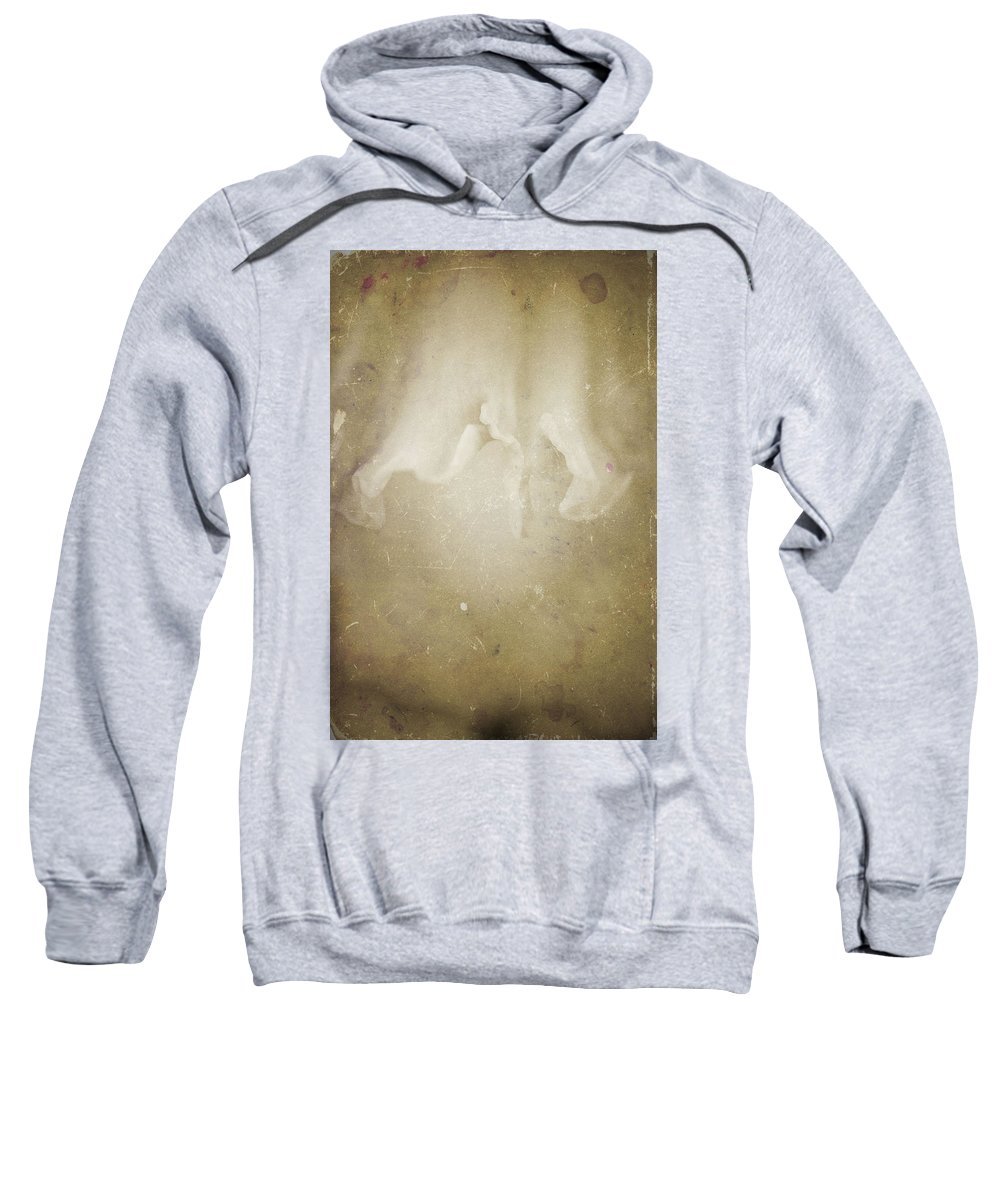 Flowers Sweatshirt featuring the photograph Nature's Sensual Form by Timothy Bischoff