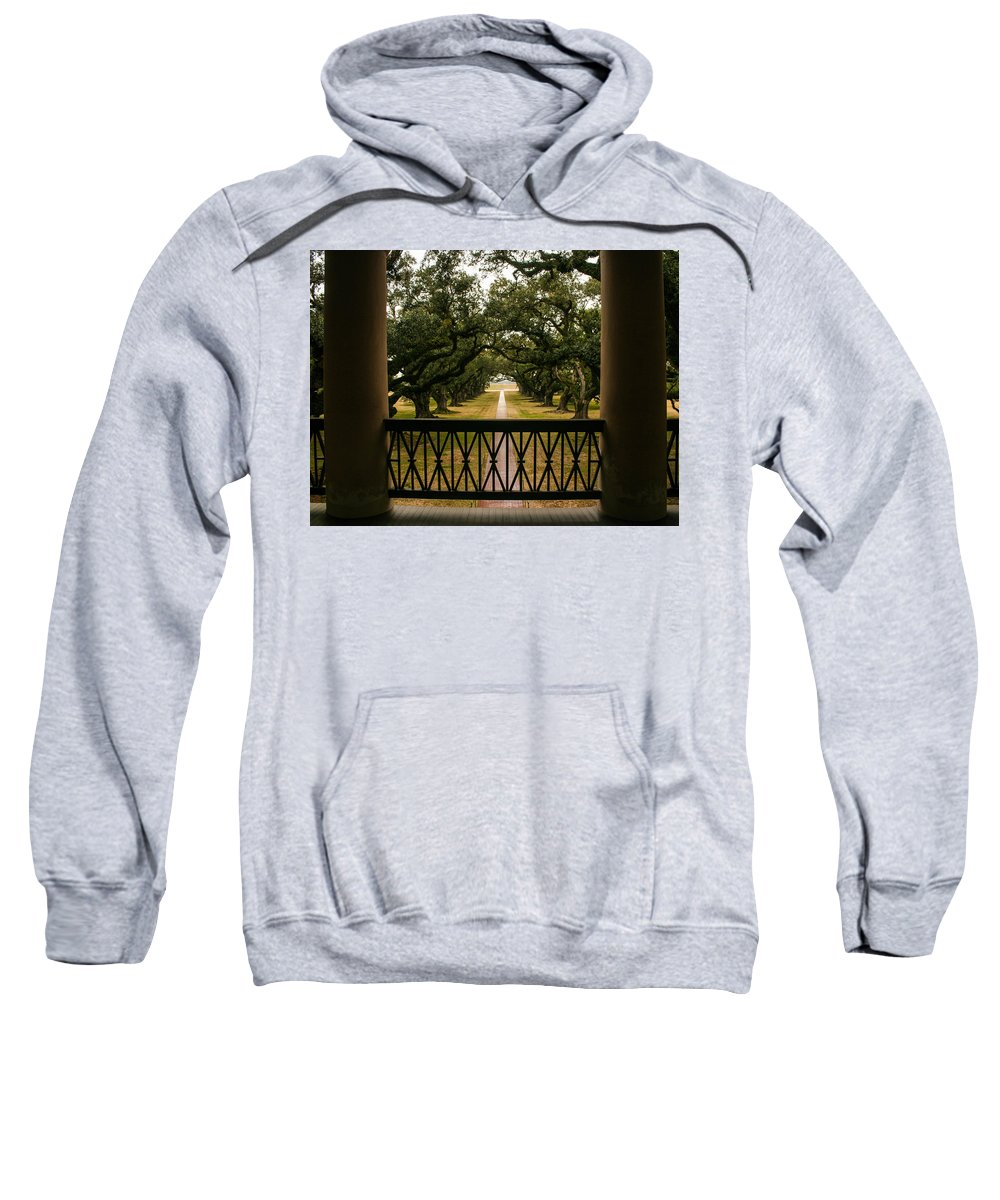 Karen Zuk Rosenblatt Art And Photography Sweatshirt featuring the photograph New Orleans Live Oak by Karen Zuk Rosenblatt