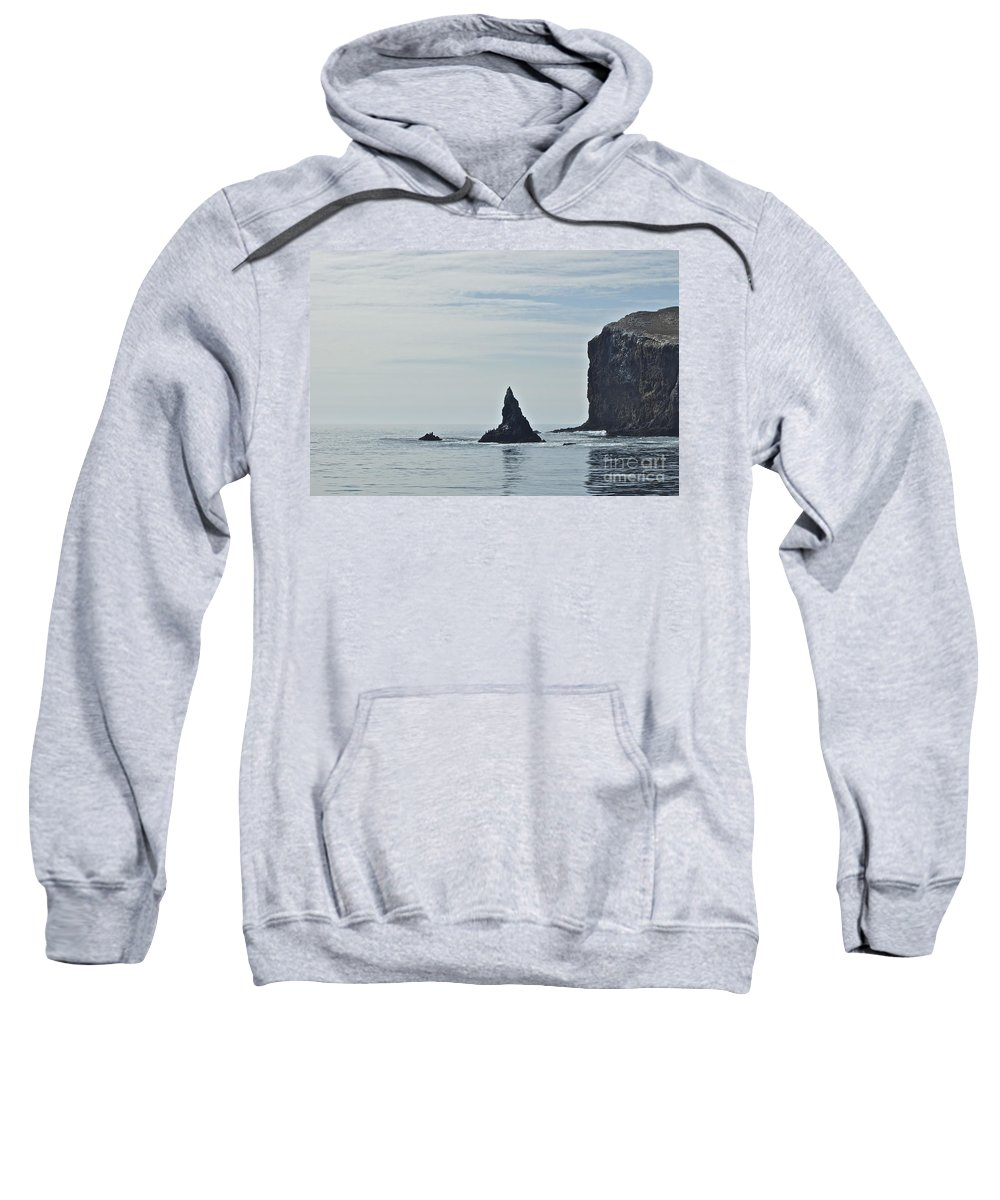 Channel Islands Sweatshirt featuring the photograph New Photographic Art Print For Sale Californian Channel Islands And Pacific Ocean 2 by Toula Mavridou-Messer