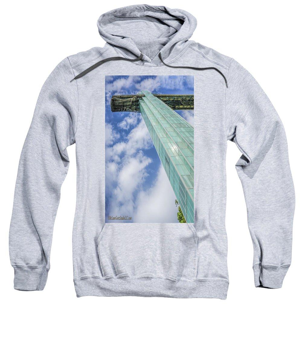 Niagara Sweatshirt featuring the photograph Niagara Falls Observation Tower by LeeAnn McLaneGoetz McLaneGoetzStudioLLCcom