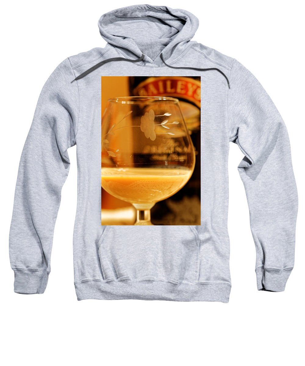 Baileys Sweatshirt featuring the photograph Nightcap by Pam Boling