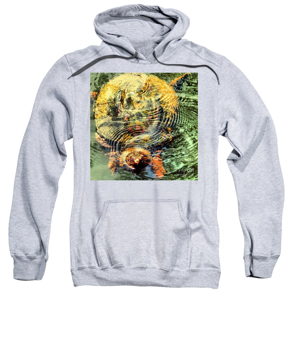 Turtle Sweatshirt featuring the photograph Noland by Heather Taylor