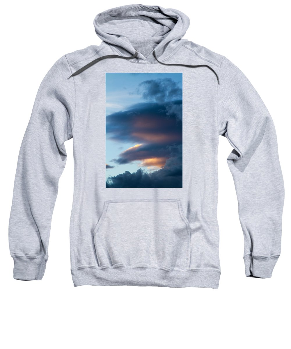 Sky Sweatshirt featuring the photograph November Clouds 001 by Agustin Uzarraga