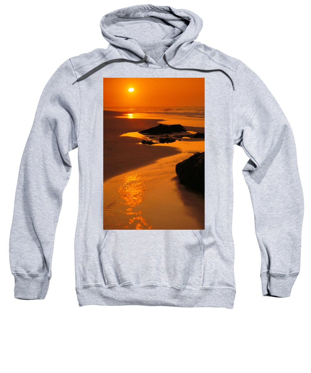 Beach Sweatshirt featuring the photograph Oahu North Shore by Dana Edmunds - Printscapes