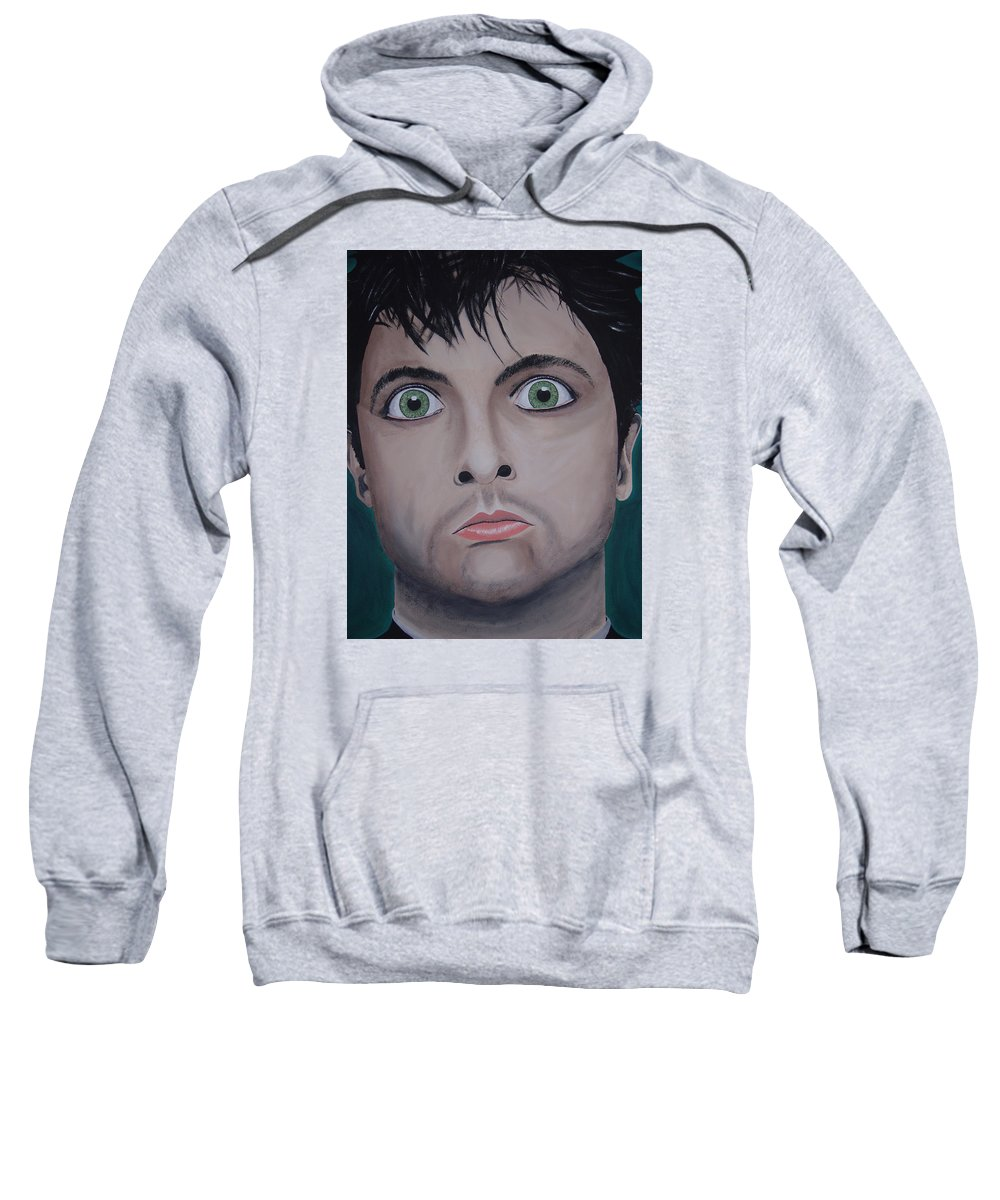 Rockumentory Sweatshirt featuring the painting Ode To Billie Joe by Dean Stephens